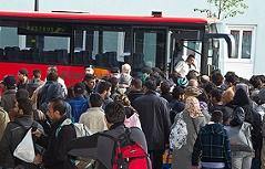 Asylkrise: Lage beim Bahnhof spitzt sich zu