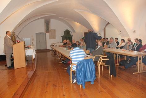 Teilnehmer der 35. Schlaininger  Gespräche