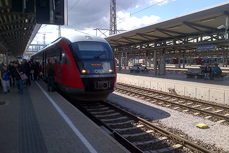 Bahnhof Wr. Neustadt