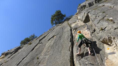 Klettersteig Geierwand : Klettersteig geierwand in haiming radio tirol