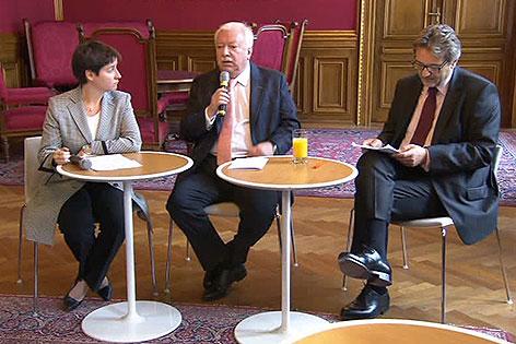Sonja Wehsely, Michael Häupl, Peter Hacker