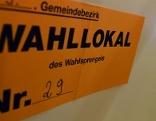 Wien-Wahl 2015 - Im Bild: Ein Wahllokal
