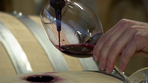 Weinabfüllung