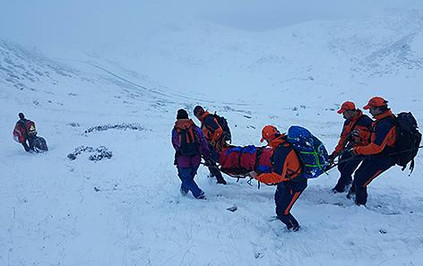 Klettersteigunfall in Bad Hofgastein Klettersteig