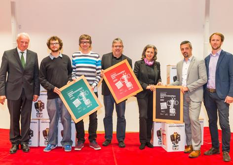 Gruppenbild Innovationspreis 2015