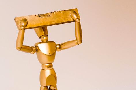 Goldenes Brett