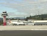 Hubschrauberstützpunkt Flughafen Hangar