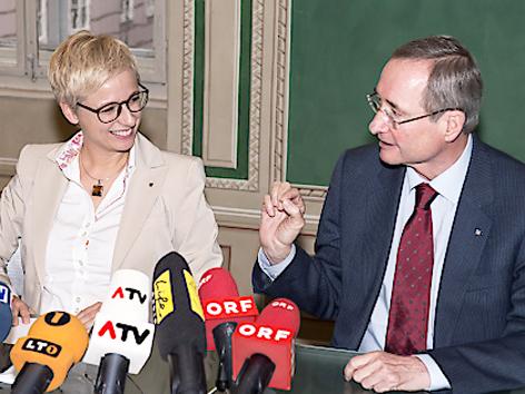 Doris Hummer und Christoph Leitl
