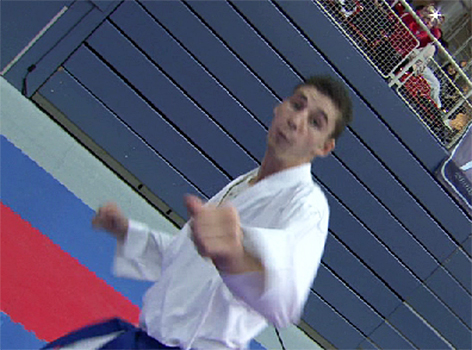 Luca Rettenbacher Karate Hallein