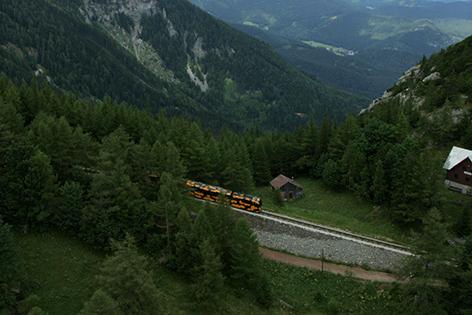Ursula Strauss Schneebergbahn