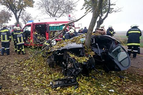 Unfall Wullersdorf Pkw
