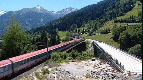 Angertal-Bahnbrücke in Bad Hofgastein soll fertig gestellt werden