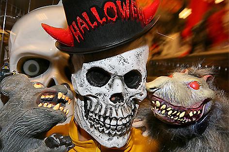 Masken zu Halloween