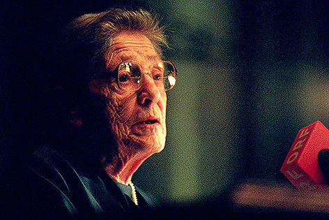 Marie Jahoda 1995 an der Universität Wien