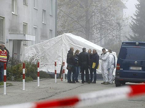Mord Klagenfurt Siebenhügelstraße Schüsse