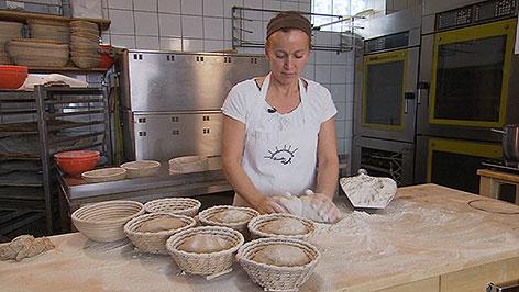 Naturbrotbäckerin Elisabeth Unger aus Wallern