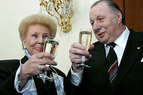 Lore Krainer und Herbert Prikopa