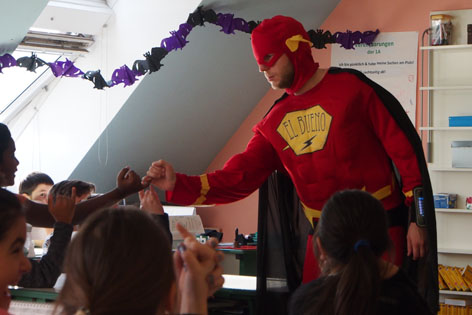 Superheld Klassenzimmertheater