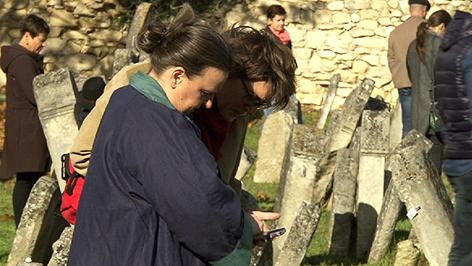 Desucher des Jüdischen Friedhofs in Eisenstadt