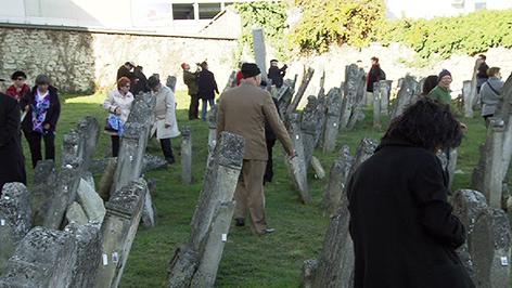 Jüdischer Friedhof in Eisenstadt