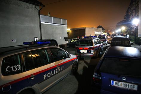 Großeinsatz der Polizei bei Massenschlägerei in Wels