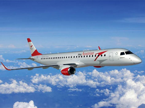Austrian Airlines Embraer