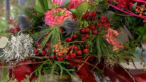 bunter Floristen-Naturblumenstrauß