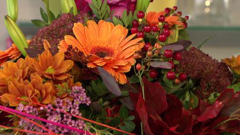 bunter Floristen-Blumenstrauß
