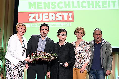 Landeskongress der Grünen in Traiskirchen 2015