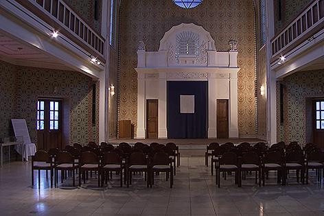 Ehemalige Synagoge in Sankt Pölten Innenaufnahme