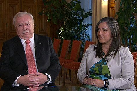 Interview mit Häupl und Vassilakou