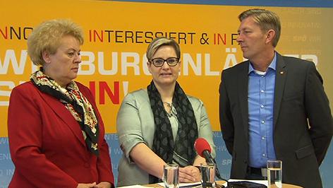 Verena Dunst, Sandra Gerdenitsch, Helmut Schuster
