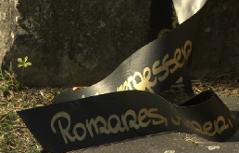 Gedenken am Roma- und Sinti Denkmal | Lackenbach