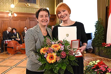 Sonja Wehsely und Chris Lohner