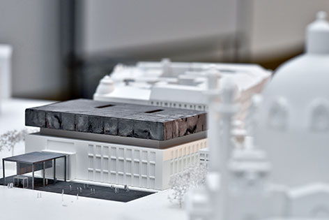 Modell Neugestaltung Wien Museum