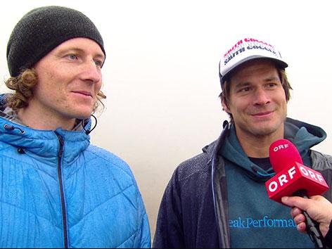 Matthias Mayr und Matthias Haunholder