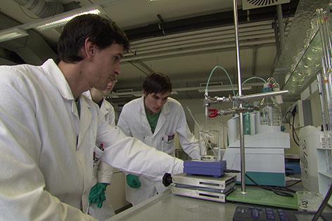 Forschung Wissenschaft Antibiotika Labor Tulln
