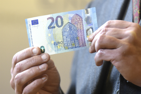 20-Euro-Banknote