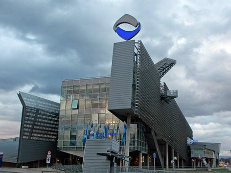 Hypo Gebäude Klagenfurt außen