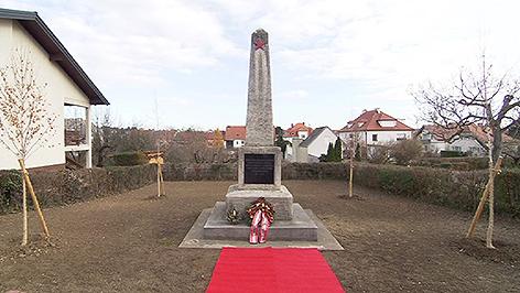 Gedenkstätte Russenfriedhof in Oberpullendorf