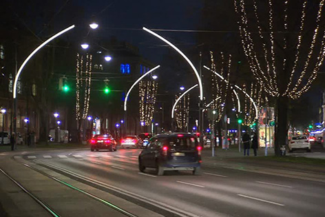 Weihnachtsbeleuchtung Ring