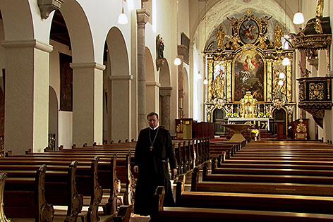 Die Klosterkirche von Michaelbeuern