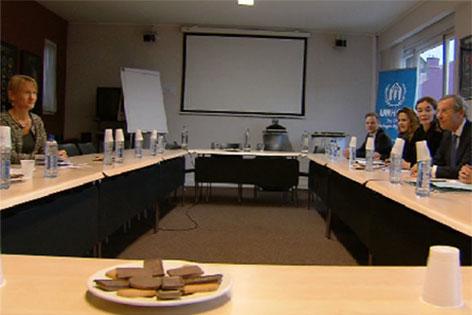 Salzburger Delegation in Brüssel