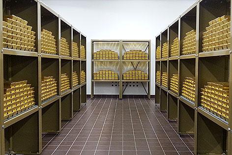 15 Tonnen Gold der Österreichische Nationalbank (OeNB)