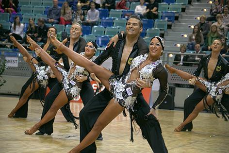 Grün-Gold Bremen Tanz-Weltmeisterschaft Latein