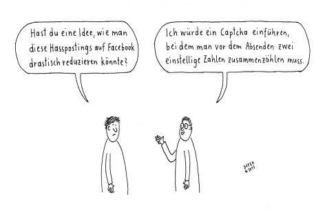 Cartoon von Dufitoon