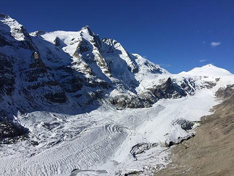 Großglockner Pasterze Gletscher