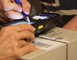 Paketdienst Paket Zusteller DHL Post Zustellservice Paketzusteller