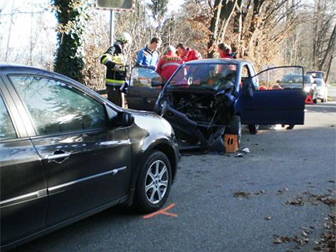 Unfall bei Schwanberg