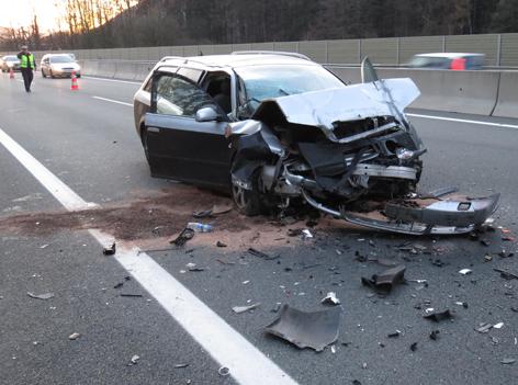Unfall A12 Langkampfen